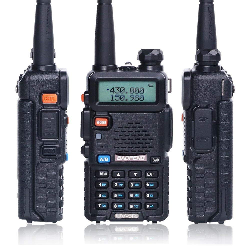 China Fabricante 5 W Dual Band Móvel 5R Baofeng Ham Radio Walkie Talkie