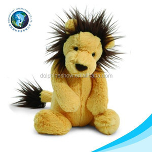 custom stuffed animal lion plush toy