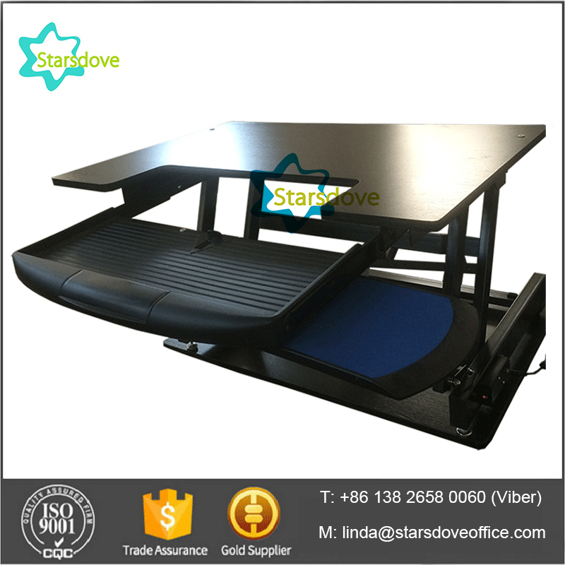 STARSDOVE -adjustable height desk electric computer sitting standing rising table adjustable SD03-4