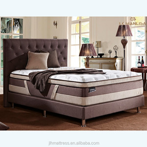 Bamboo comfortable knitting fabric mattress from mattress manufacturer