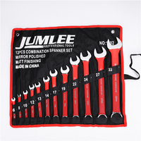 24pcs Multifunctional explosion-proof Ratchet Ring Combination Spanner Wrench Set For Repair
