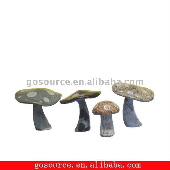 natural mushroom stone