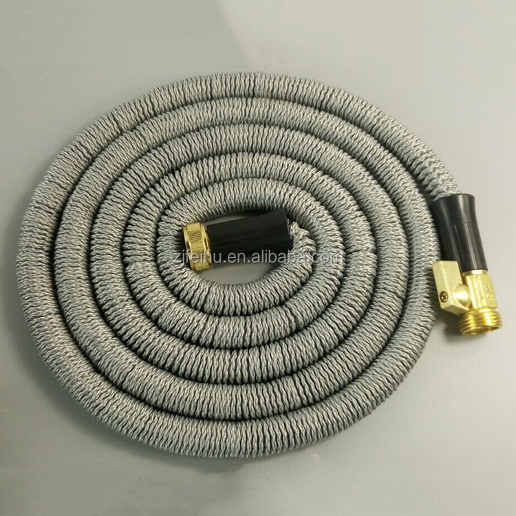 High Pressure house cleaning premium Platinum 25' Expanding Hose, cloth garden hose, best water hose pipe on the Planet