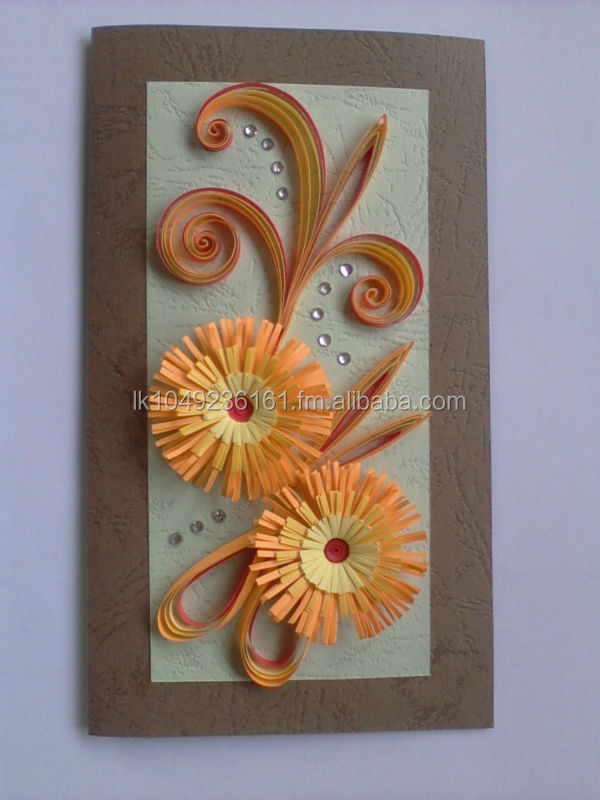 Paper Quilling Greeting Cards Buy Paper Greeting Card With