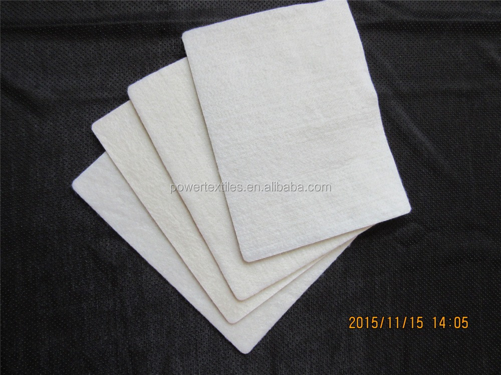 waterproof and oil proof polyester needled felt