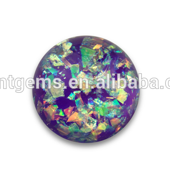 Decorative jewelry gemstone synthetic opal resin opal stone