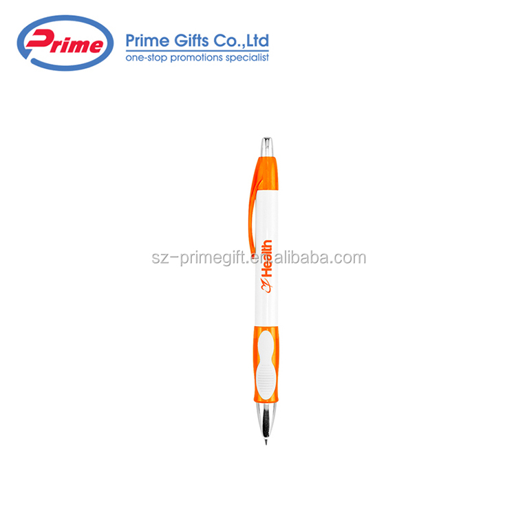 Factory Supply Attractive Price Promotion Pens Plastic Ball Point Pen
