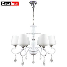 Modern cheap indian hanging pendant chandelier with 3% glass spare parts