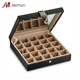 High Quality Rings Earring Tray Travel Jewelry Organizer Box With Mirror