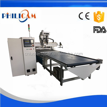 auto feed 1325 3d machine center cnc router