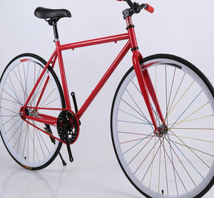 Cheap racing bicycle 26 inch single speed fixed gear fixie bike