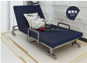 Modern Cheap Folding Single Bed Designs/metal Bed Frame/foldable Steel Bed  Prices