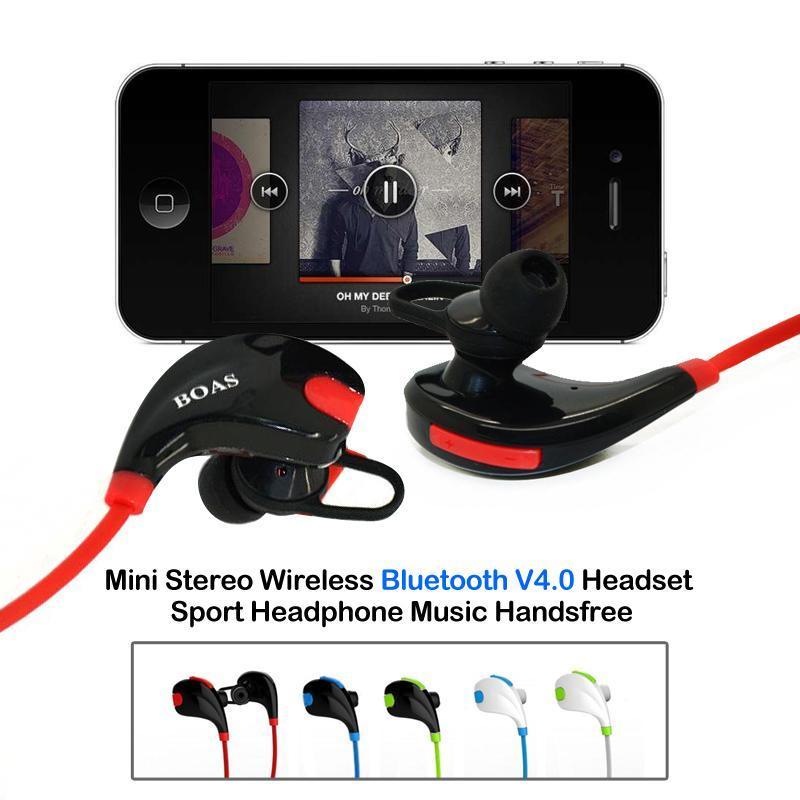 New Wireless Stereo Bluetooth Headset,Sport V4.1 Bluetooth Headset ...