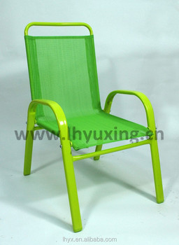 Colorful metal frame outdoor kids chair child chair kiddy - Chaise jardin enfant ...