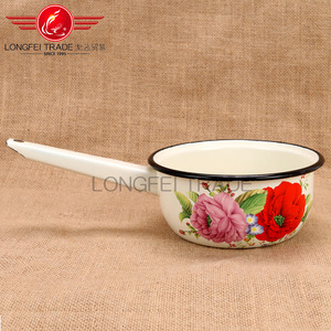 Enamel Coffee Scoop Spoon Without Clip