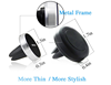 2015 aluminum novelty air vent car holder for smartphone accessories 2015