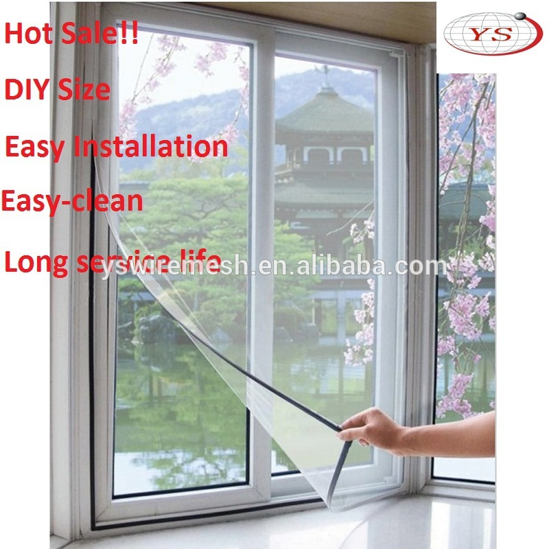 Fiberglass Window Mesh Net Magnetic Mosquito