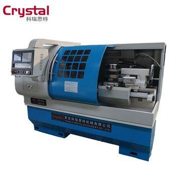 Horizontal Cnc Medium Duty Lathe Machine / Large Sized Cnc ...