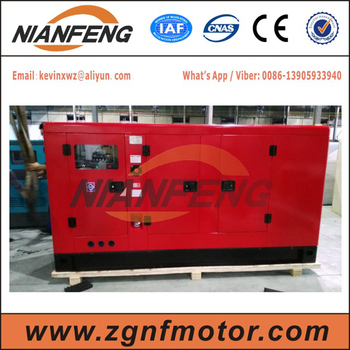 NIANFENG GROUP 100kva power generation, with 6BT5.9-G2 engine and Stamford alternator, Smartgen controller, AISIKAI ATS