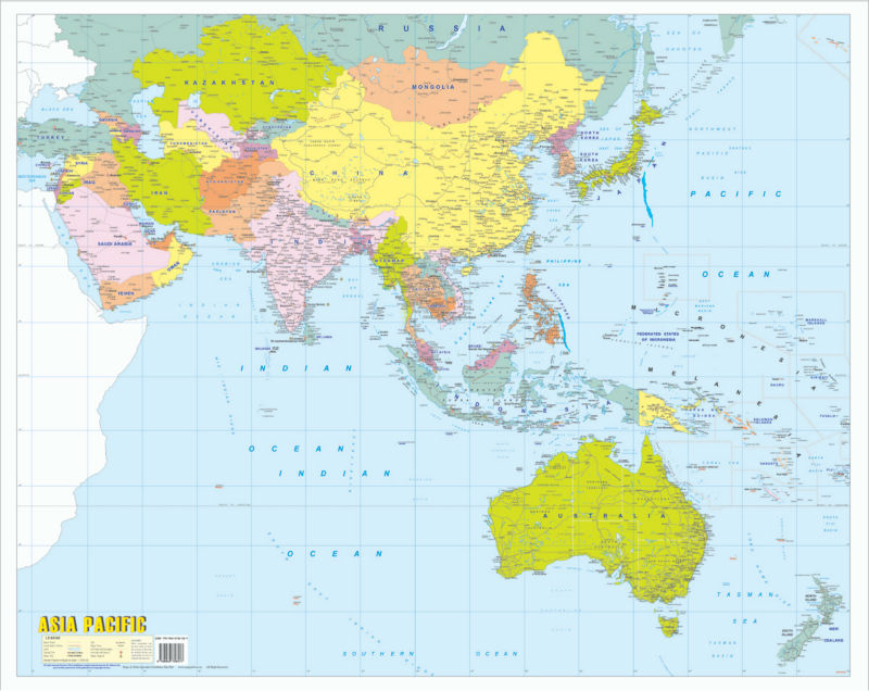 Map Of The Asia Pacific.Asia Pacific Map Buy Asia Map Product On Alibaba Com