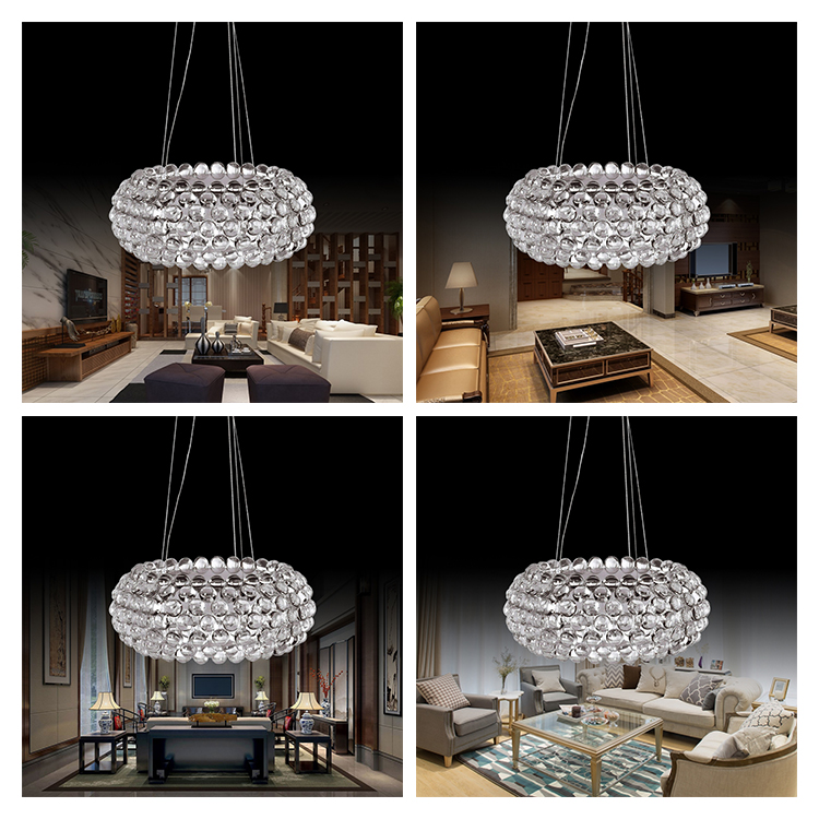 Bed room Dinning talbe Modern Fance Pendant Light Lamp Chandelier
