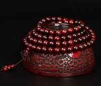W11238G 2016 India lobular red sandalwood sandalwood bracelets 108 Wholesale 8mm Prayer beads bracelet male