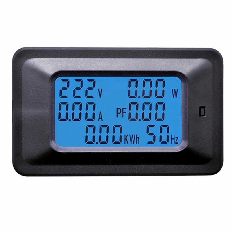 20A 100A 220V LCD Panel Monitor Power Energy Analog Voltmeter Ammeter Watt Current Amps Volt <strong>Meter</strong> Digital AC Voltage <strong>Meters</strong>
