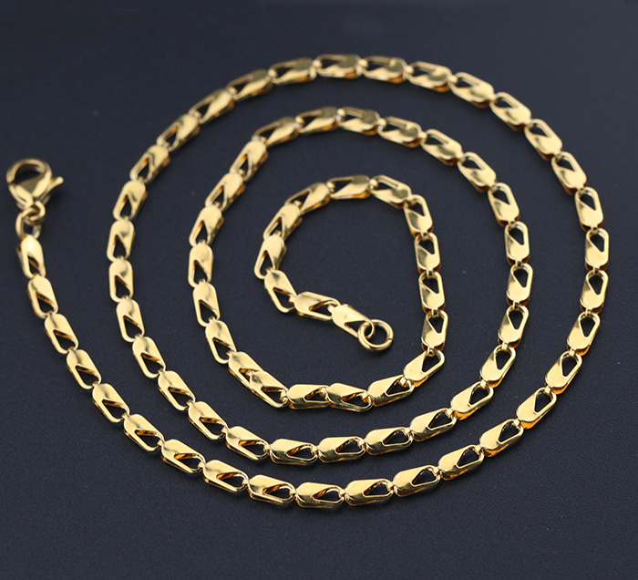 Factory Supply Cheap Solid 18k Gold Plated Jewelry Necklace фото