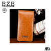 Hot products 2016 vintage mens long leather wallet bifold wallet