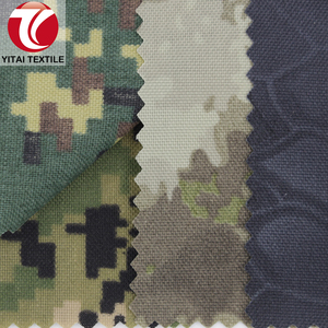water resistant 500d nylon predator camo camouflage cordura printed fabric with pu coated