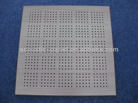 new type curved acoustic ceiling panels wooden perforated acoustic panel