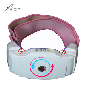 Electric Neck Shoulder Waist Vibrating Tapping Body Care Slimming Fat Burning Vibration Massage Belt Machine
