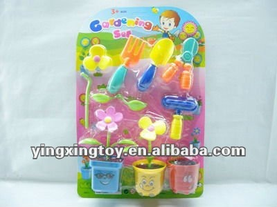 pretend garden tool toys for children playing tools
