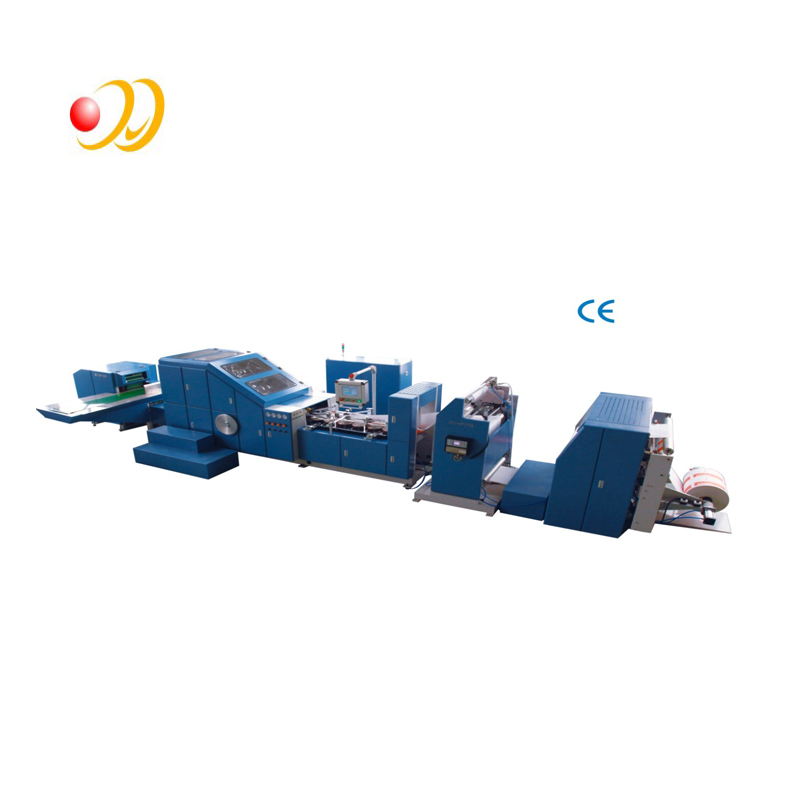 Paper Bag Making Machine With Printing And Binding
