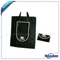 Recycled shopping bag non woven foldable tote bag