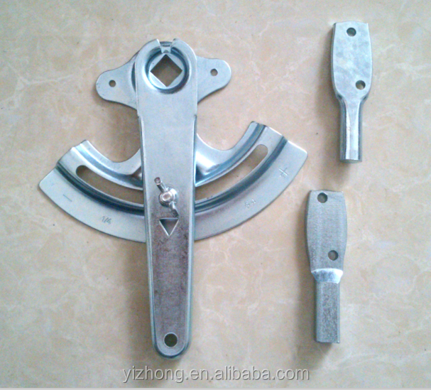 Quadrant damper handles for HVAC