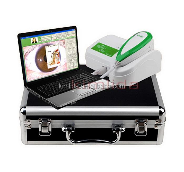 5.0M Pixels CCD USB Iriscope Iridology iris eye health analyzer фото