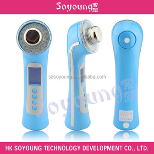 Ultrasonic Waves LCD Photon Beautiful Skin Care Device