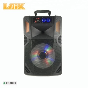 12 inch trolley speaker professional music stage speaker with usb and BT