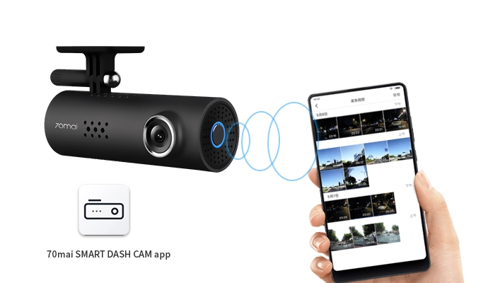 Dash Cam WiFi, FHD 1080P Dash Camera for Cars, Car Dash Camera Recorder, G-Sensor, Loop Recording, Parking Monitor