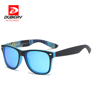 DUBERY Polarized Sun Glasses Sunglasses Men's Aviation Driver Shades