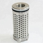 Industrial pleated filter cartridge stainless steel filter element star-pleated filter element