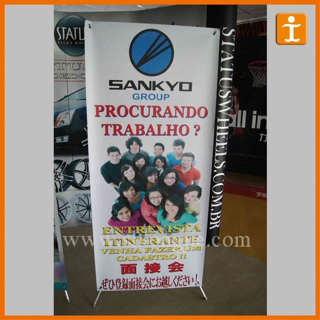 advertising display luxury 85x200 aluminum wide screen roll up banner