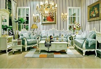 Antique French country style living room furniture B49069, View ...