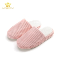 Good Quality Women TPR Closed Toe Terry Towel Fashion Cute Girls Winter Sleeper