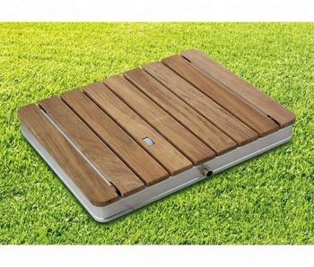Rectangle Burmese Teak Wood Outdoor Shower Buy Portable Outdoor