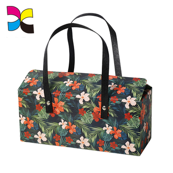 Guangzhou factory customized logo color printing cosmetic bag