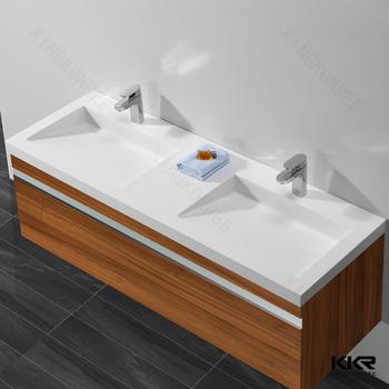 acrylic resin bathroom vanity sink toilet hand wash basin combination