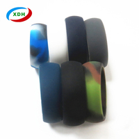 Customized OEM soft Silicone wedding ring for men
