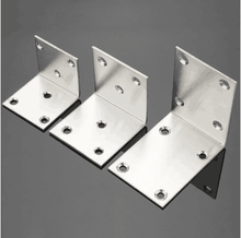Stamping stainless steel right angle bracket 90 degree corner bracket